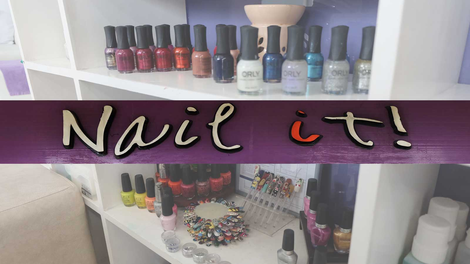 Happy hands and feet at Nail It! Rockwell