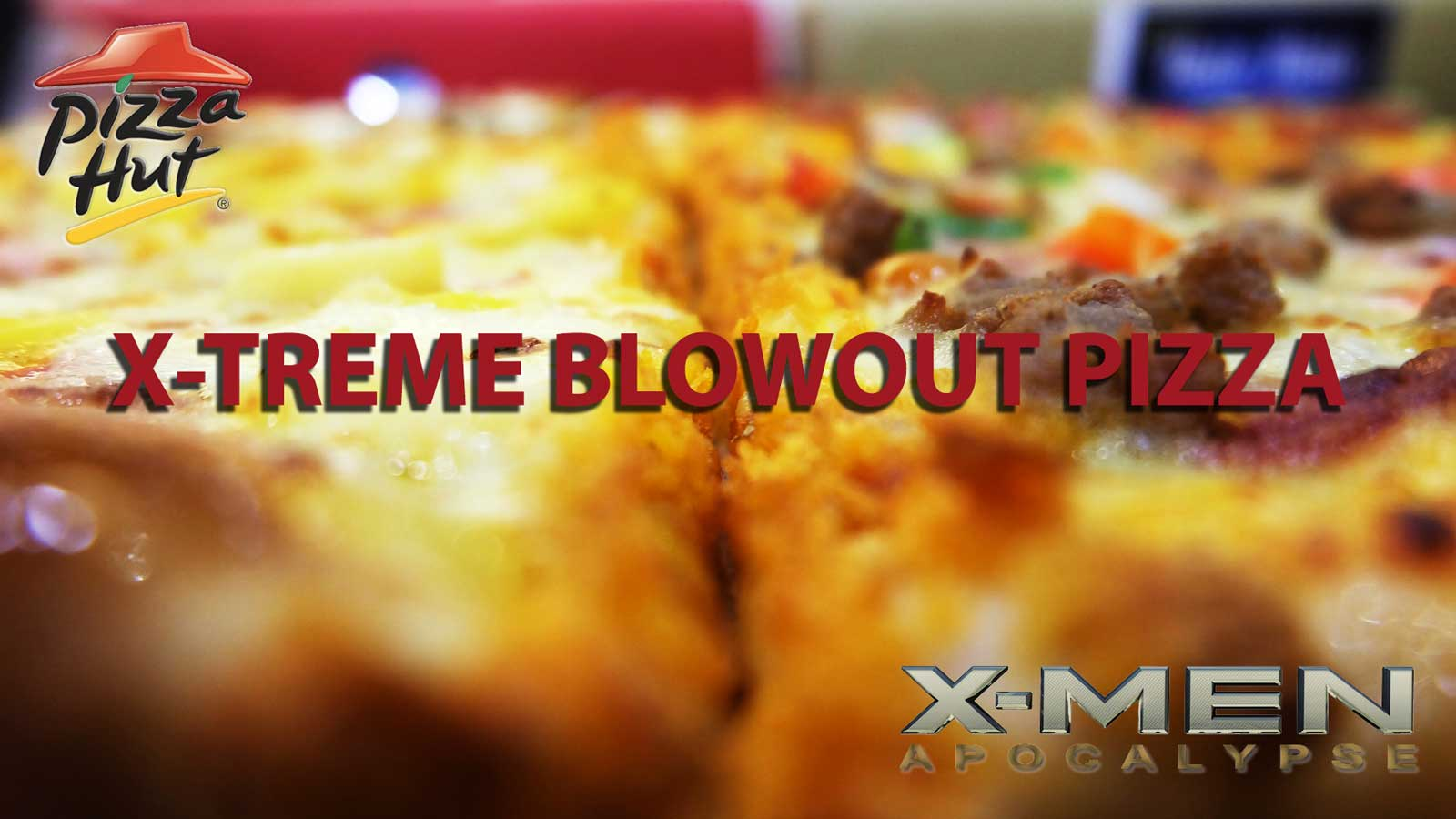 Pizza Hut introduces the Blowout Pizza