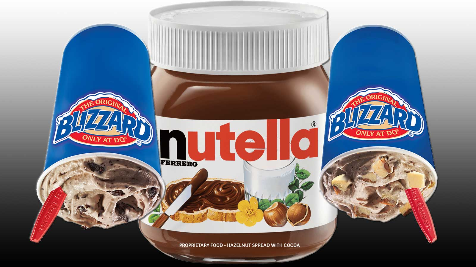 Nutella Blizzard: Dairy Queen Fan Choice Blizzard of the Month