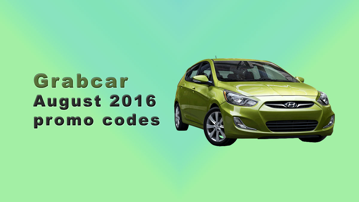 Grab promo code for August 2016