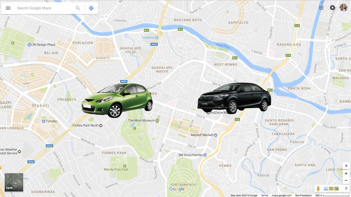 Google maps integrates with ridesharing apps