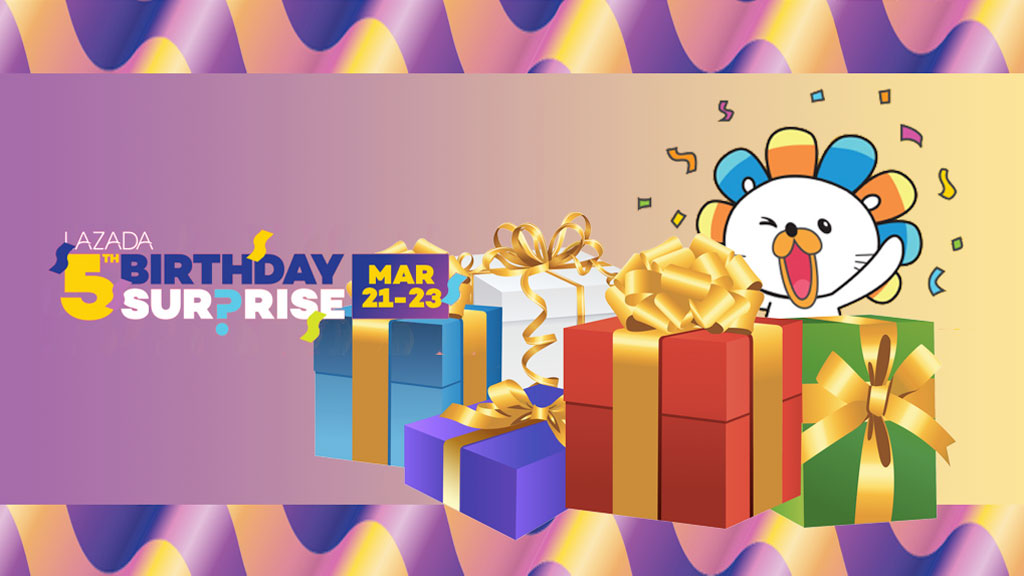 Lazada Turns 5 in 2017