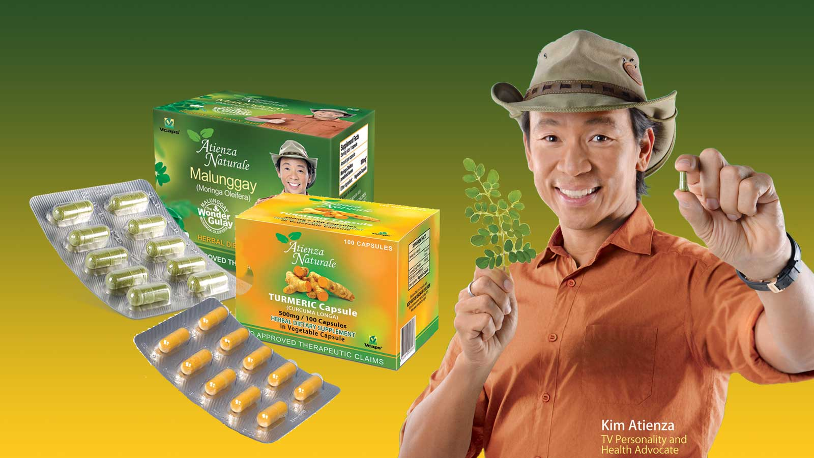 The herbal solution to good health in capsule form