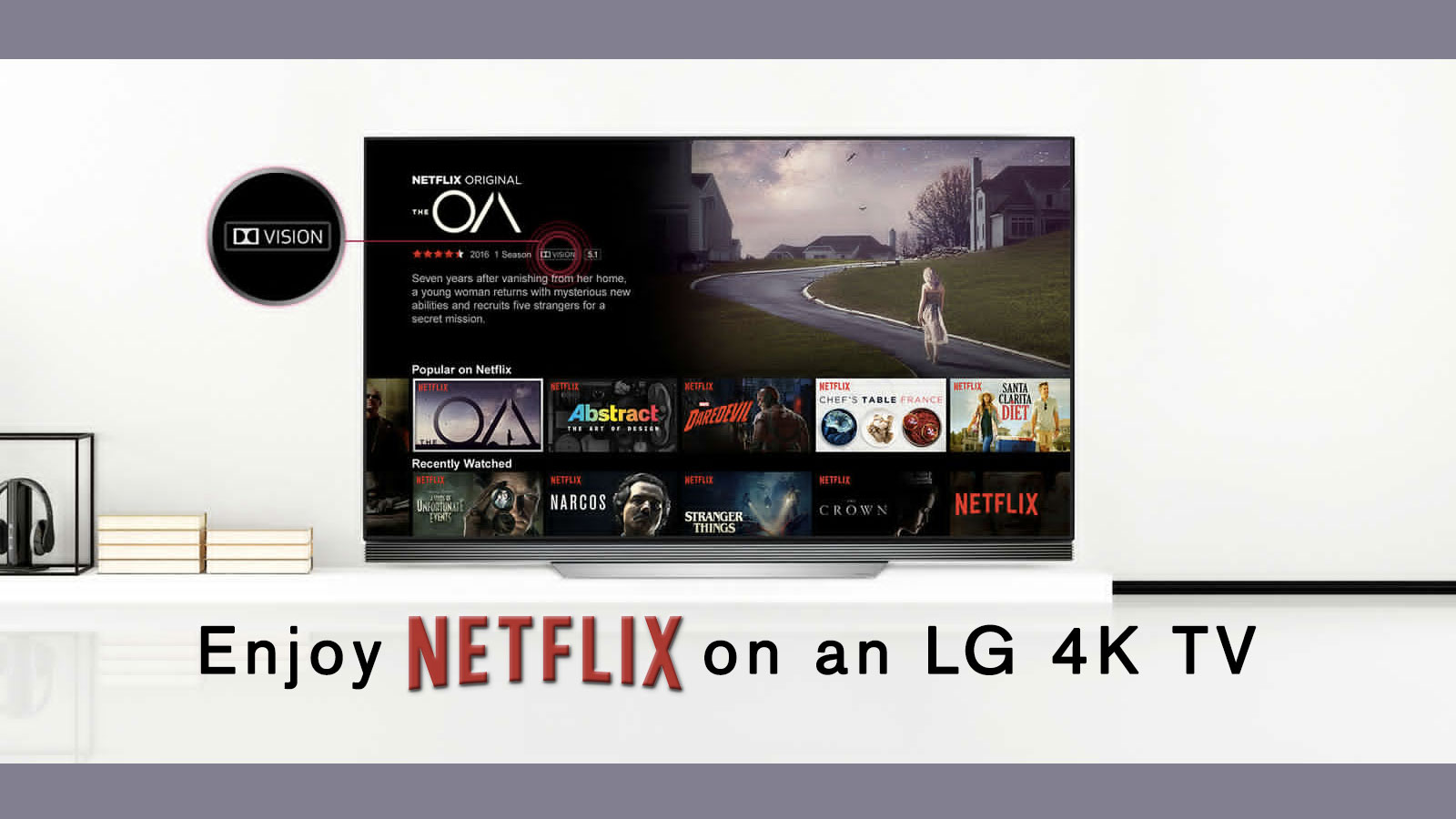 LG gives away 3-month Netflix subscription plans to 4K TV customers
