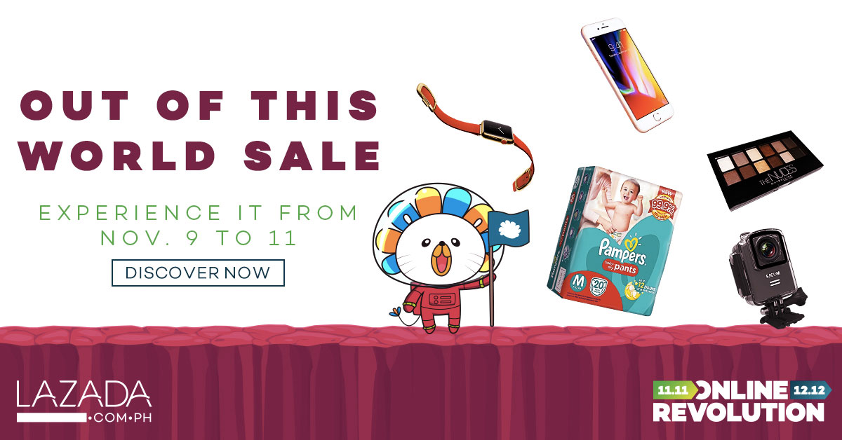 Lazada's out of this world sale day 2