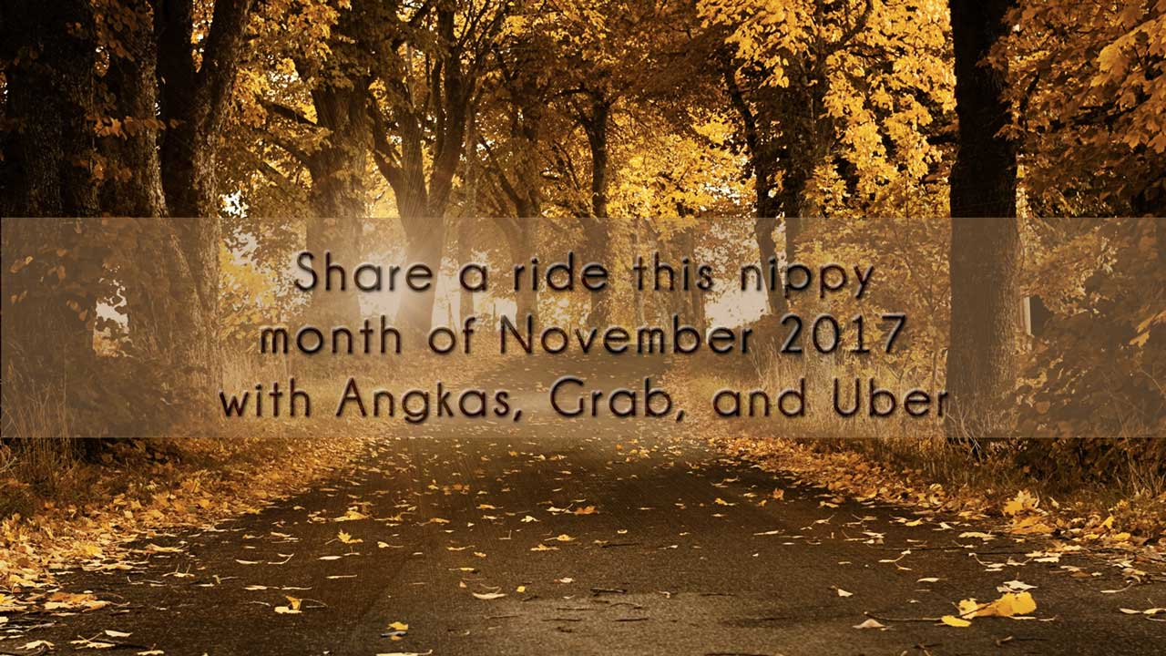 Ridesharing promo codes for November 2017