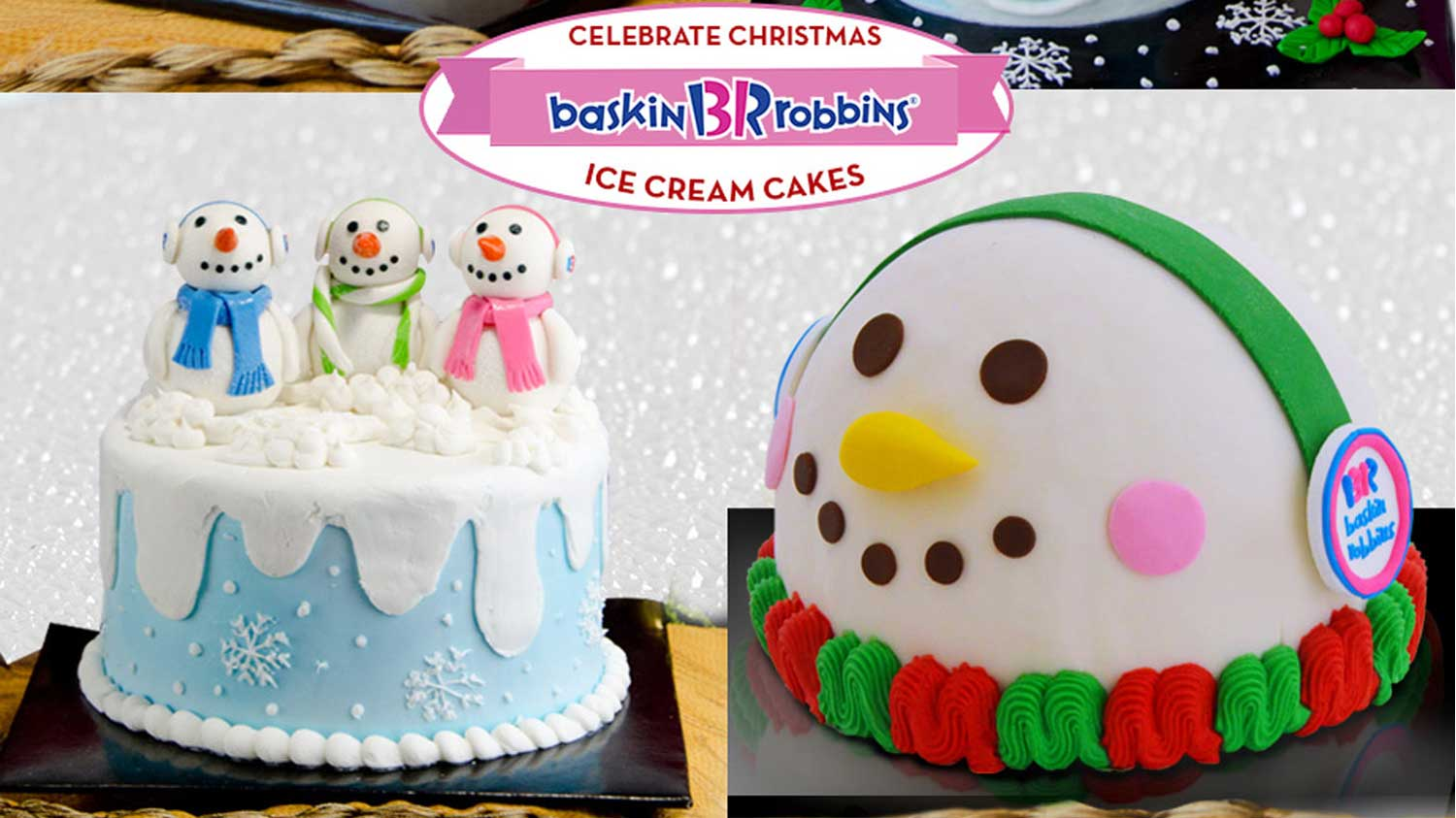 Make Christmas special with Baskin-Robbins ice cream cakes