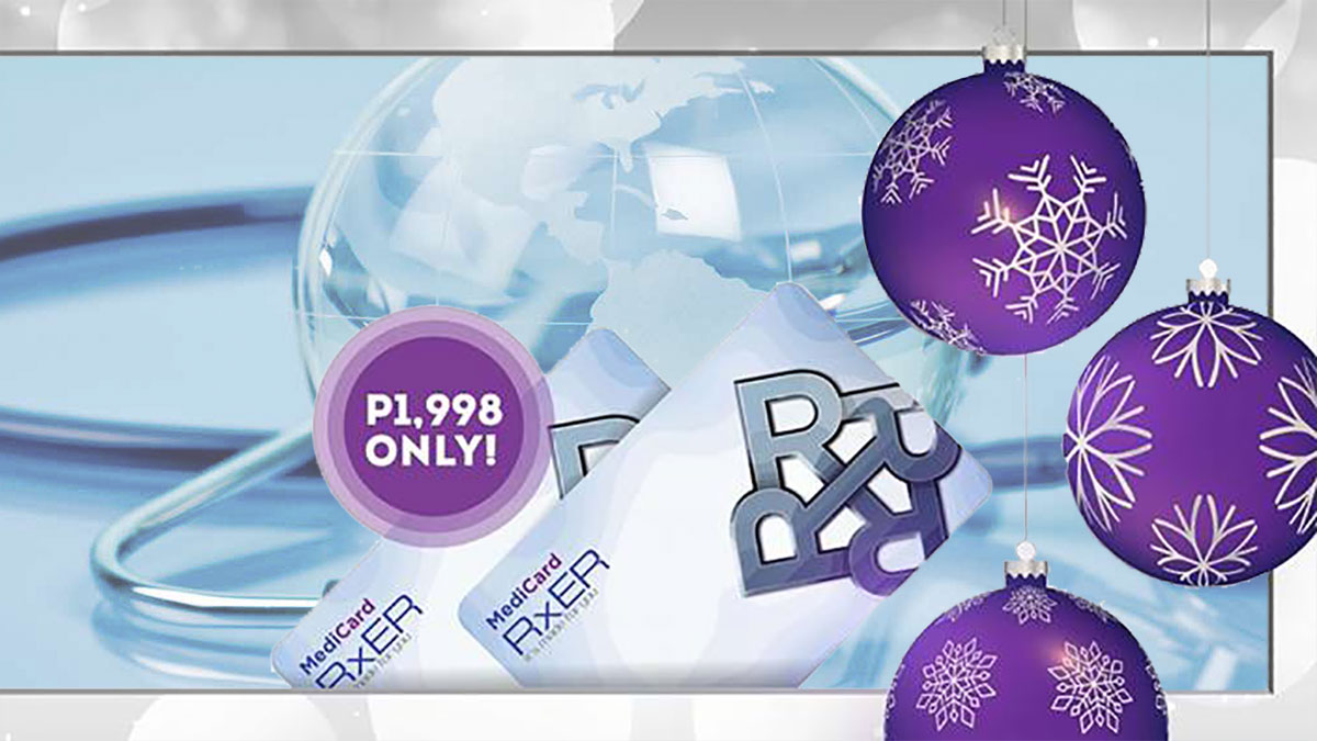 Buy 1, take 1 for Medicard RxER until Dec 3