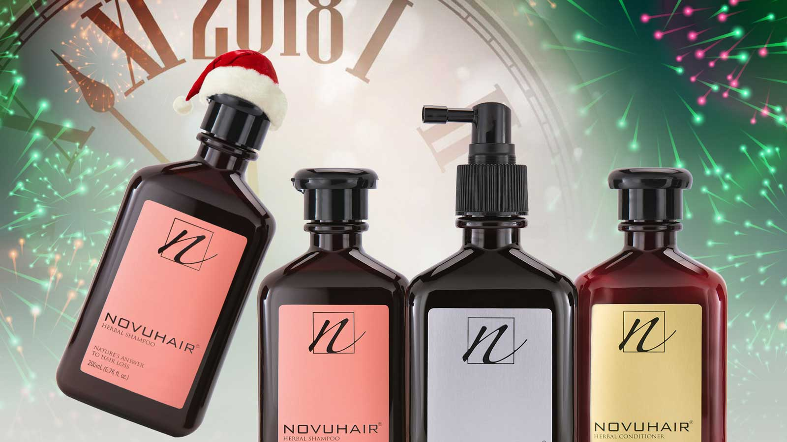 NOVUHAIR turns favor with Holiday bash promo