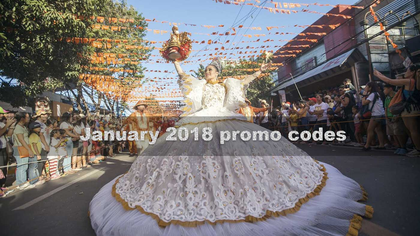 Ridesharing promo codes for January 2018