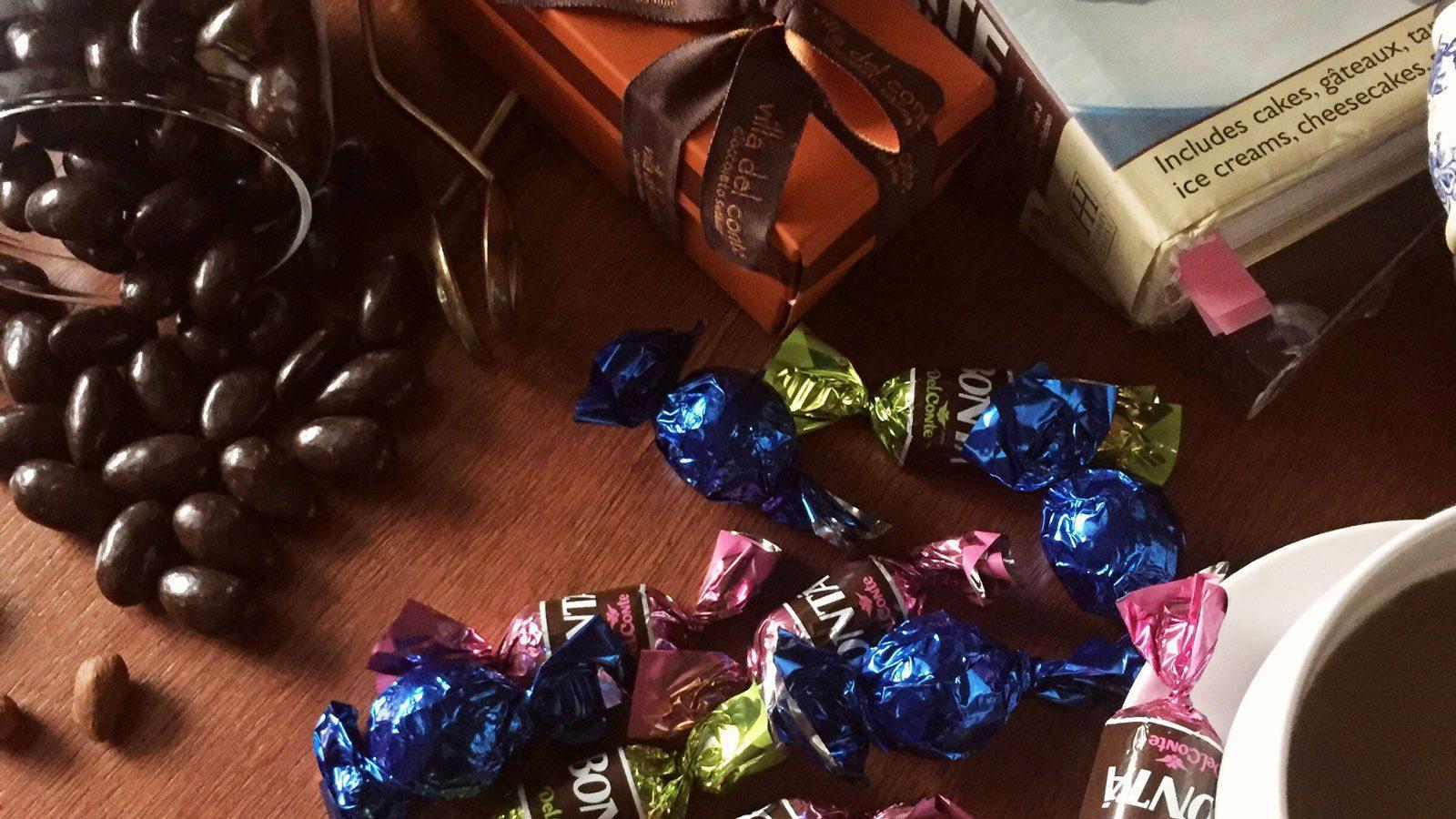 New flavors from Villa Del Conte chocolates