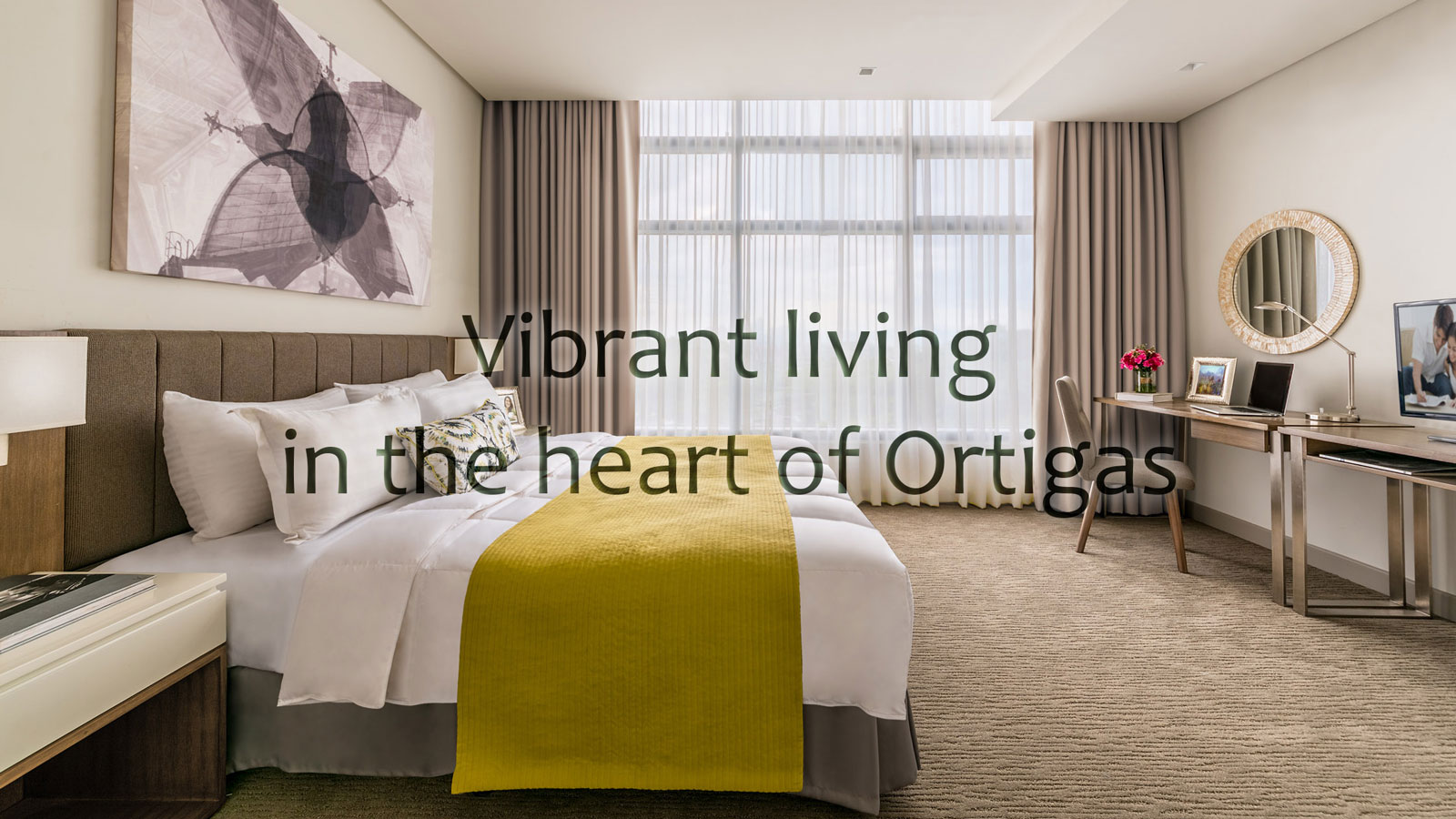 Vibrant living at Citadines Millenium Ortigas
