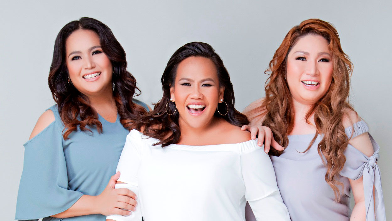 Radha, Bituin Escalante, and Frenchie Dy for SM Woman Plus
