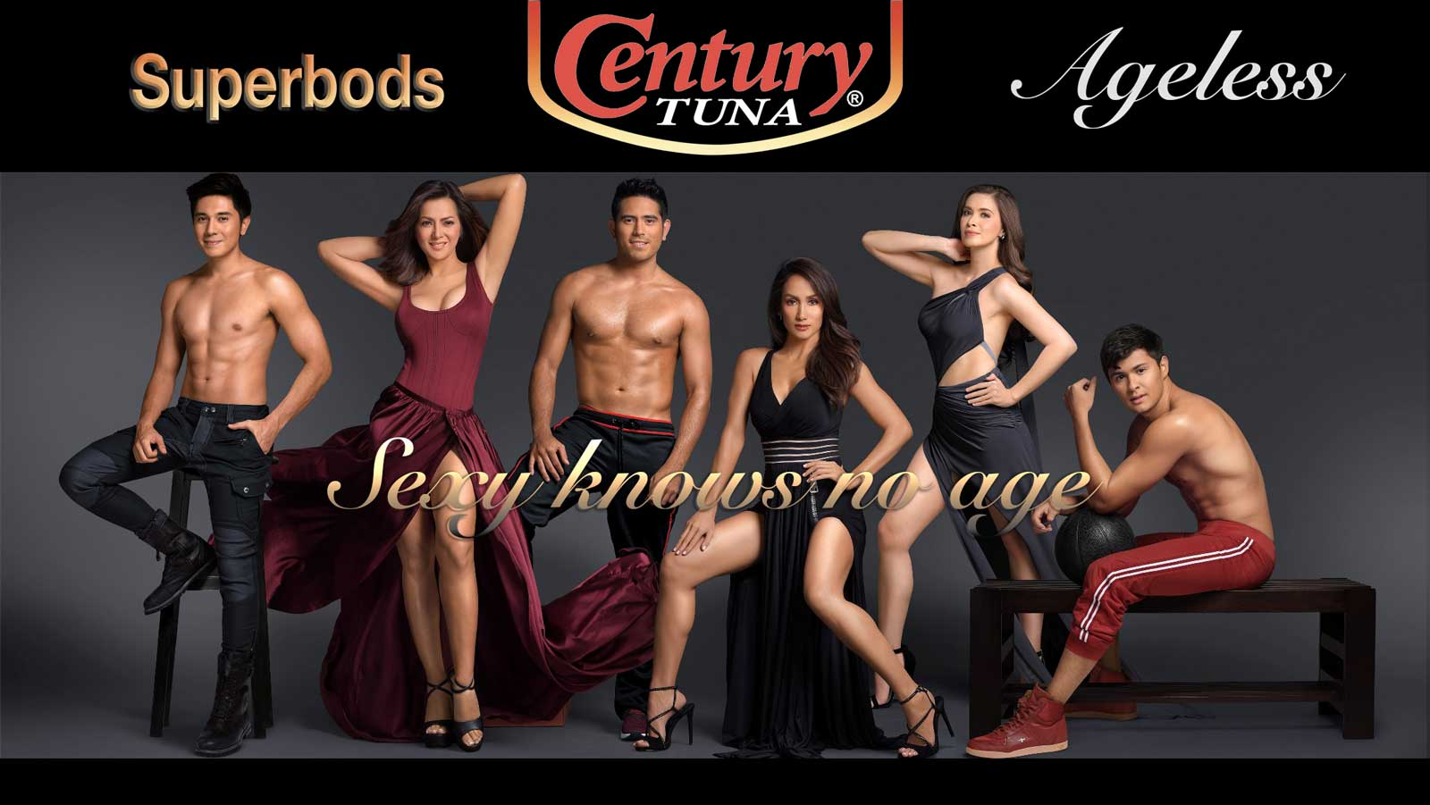 Strong and sexy with Century Tuna