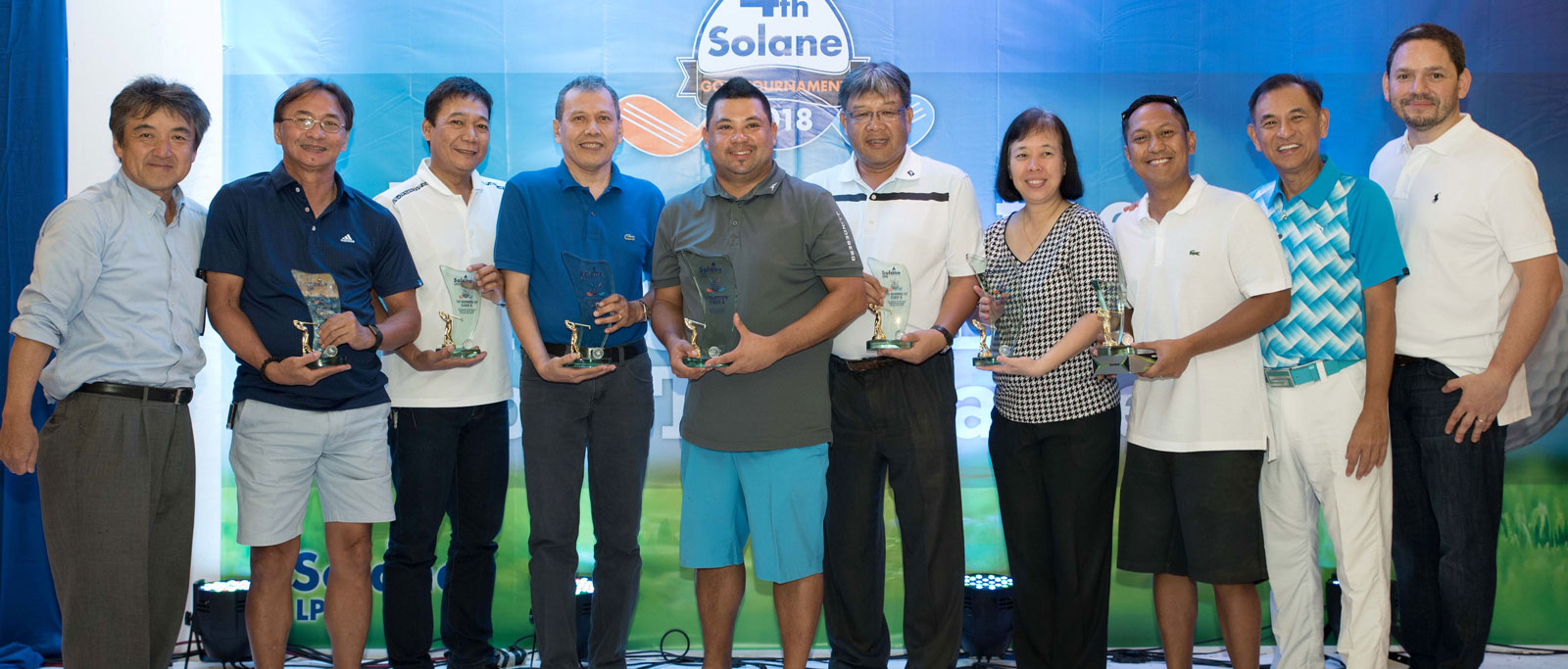 Solane hosts 4th golf cup tournament