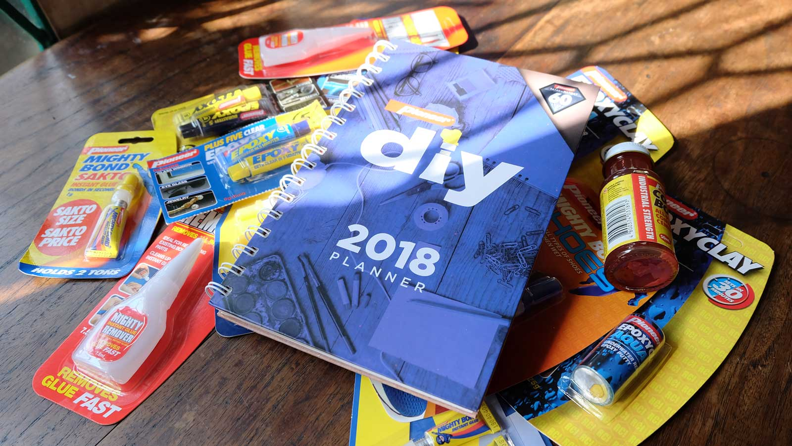 Win a Pioneer Adhesives DIY 2018 Planner
