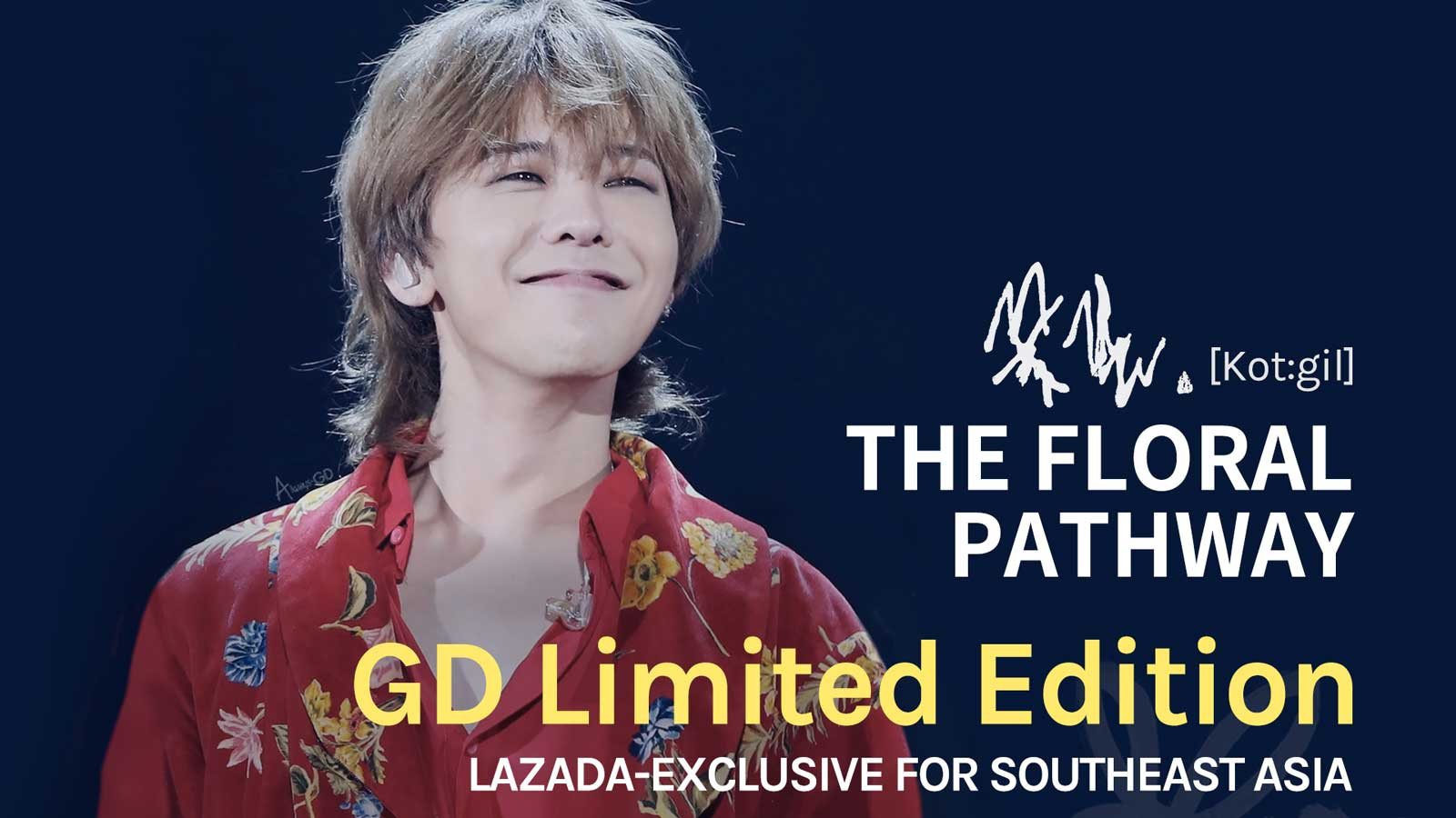 Military-bound Kwon Ji Yong (GD) Bids Farewell to Southeast Asia Fans with Floral Parting Gift on Lazada