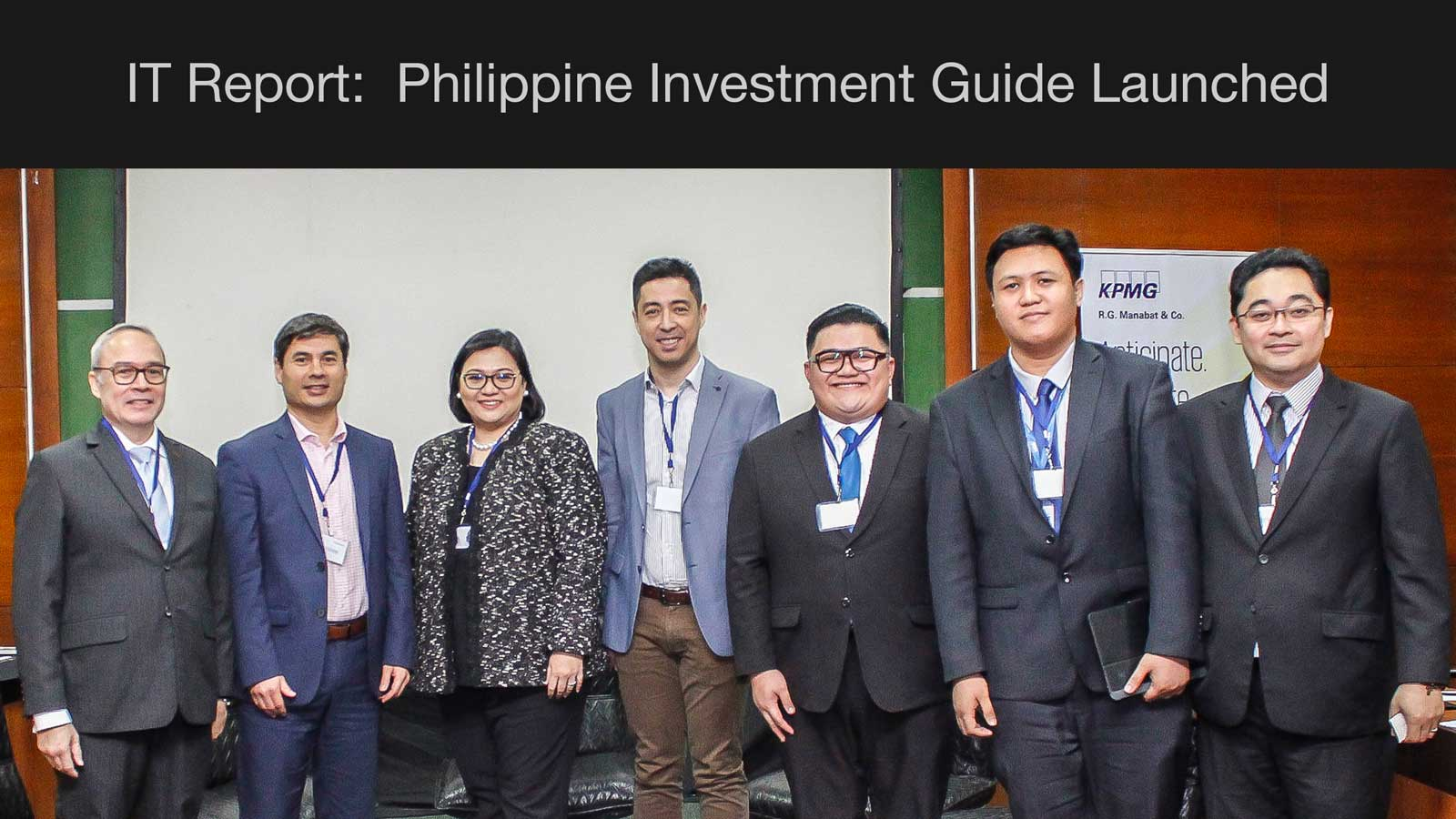 IT Report: Philippines Investment Guide launched