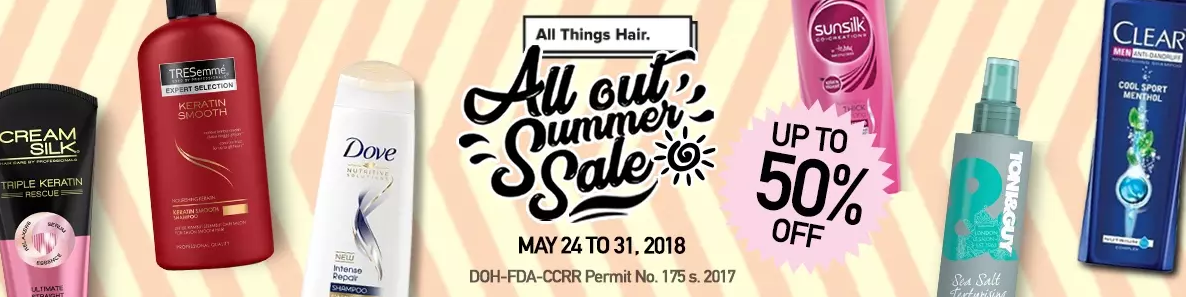 All things hair all out summer sale