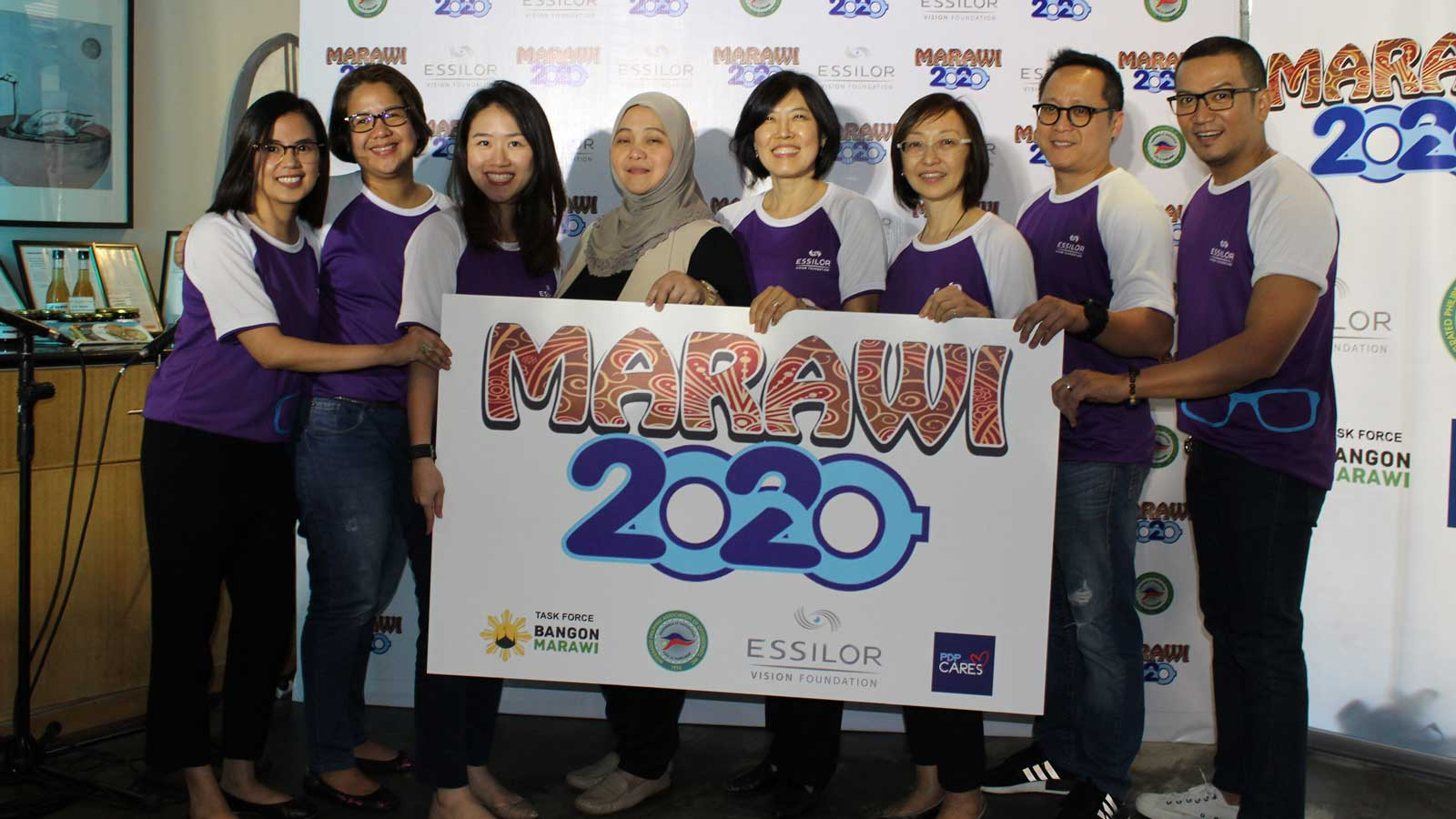 Essilor Vision Foundation launched Marawi 2020