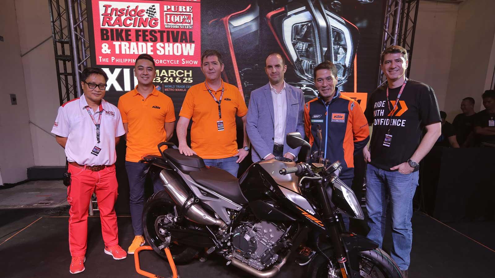 KTM Philippines launches 790 Duke