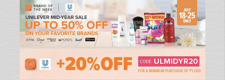 Lazada-Unilever Midyear Sale