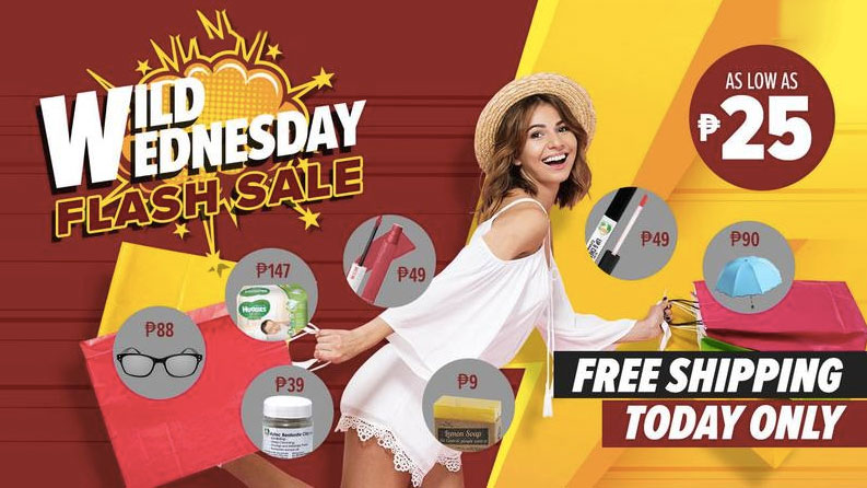 Lazada Wild Wednesday: Flash Like No Other