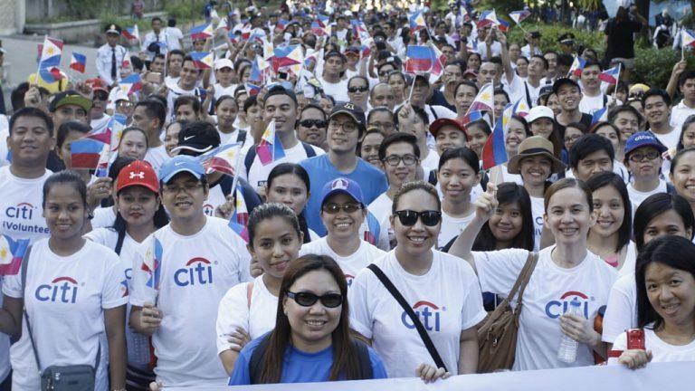 Citi joins Freedom Walk 2018