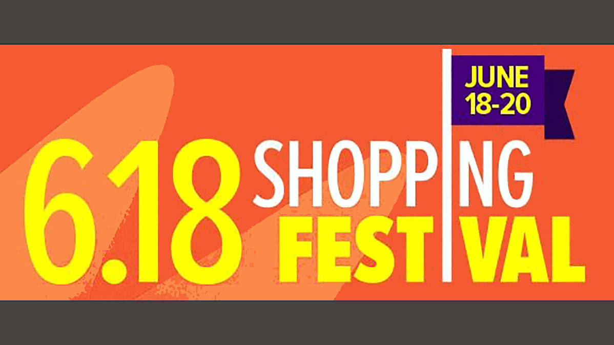 Lazada's 618 Shopping Festival Begins Today!