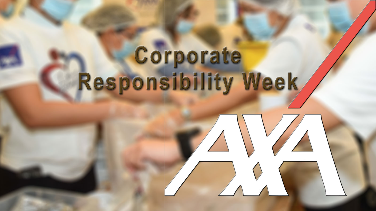 AXA's annual corporate responsibility week