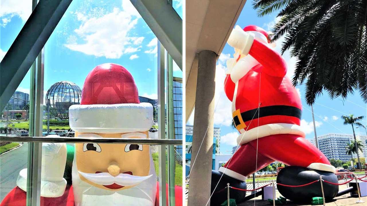 Santa takes the reins at SM Supermalls' Christmas