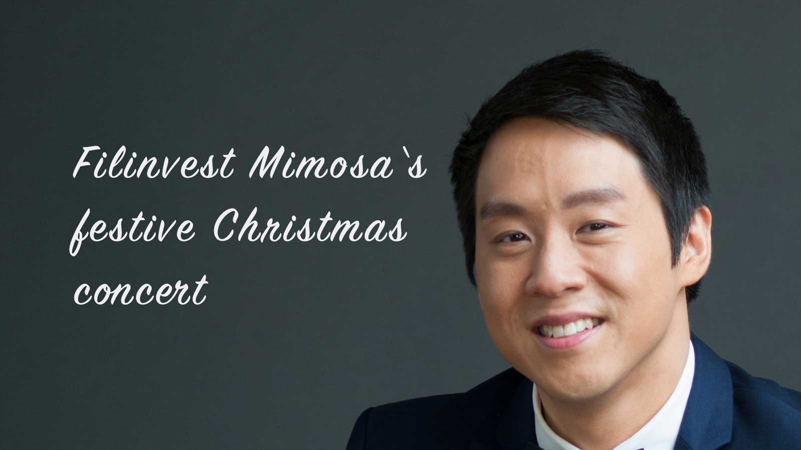 Festive concert at Filinvest Mimosa