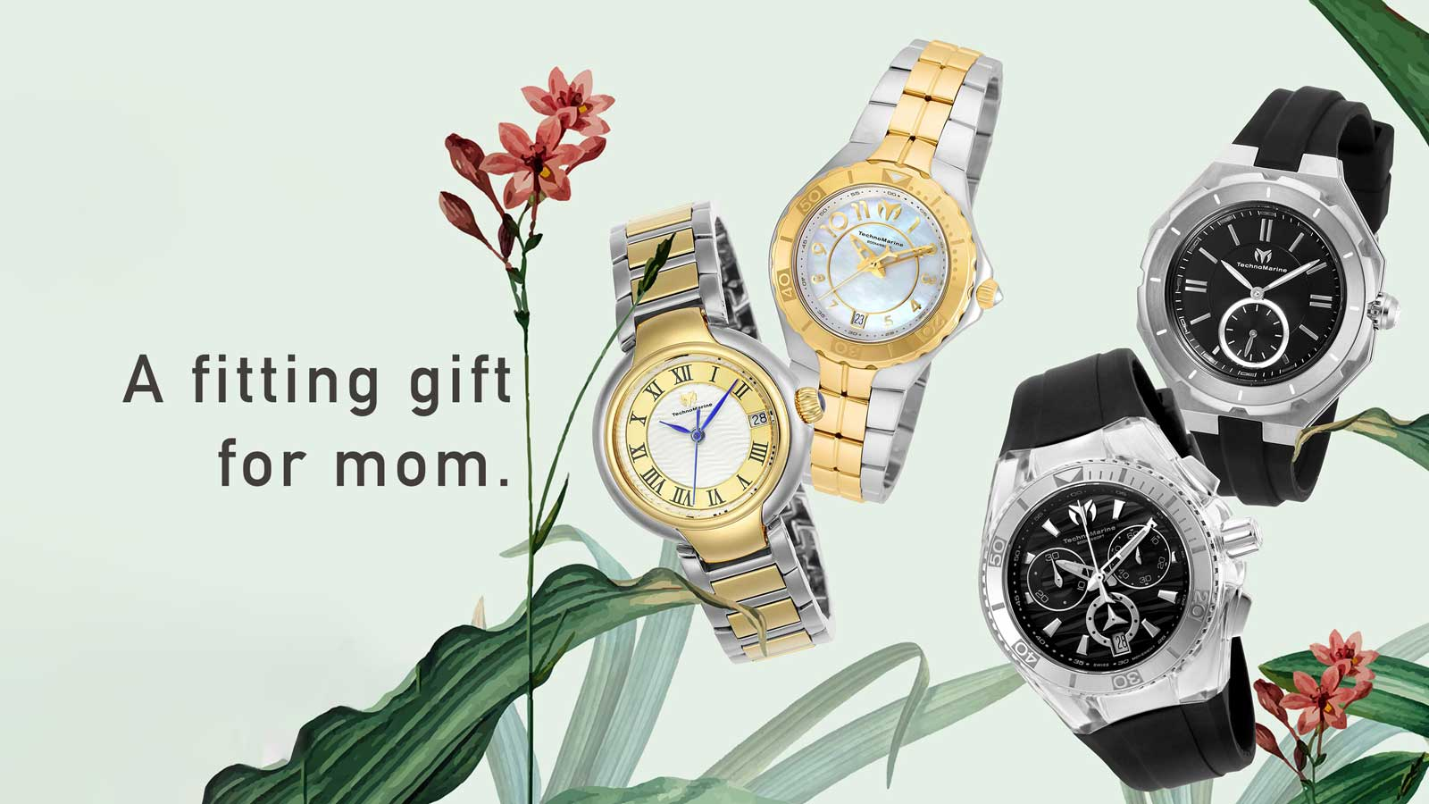 TechnoMarine, a fitting gift for mom