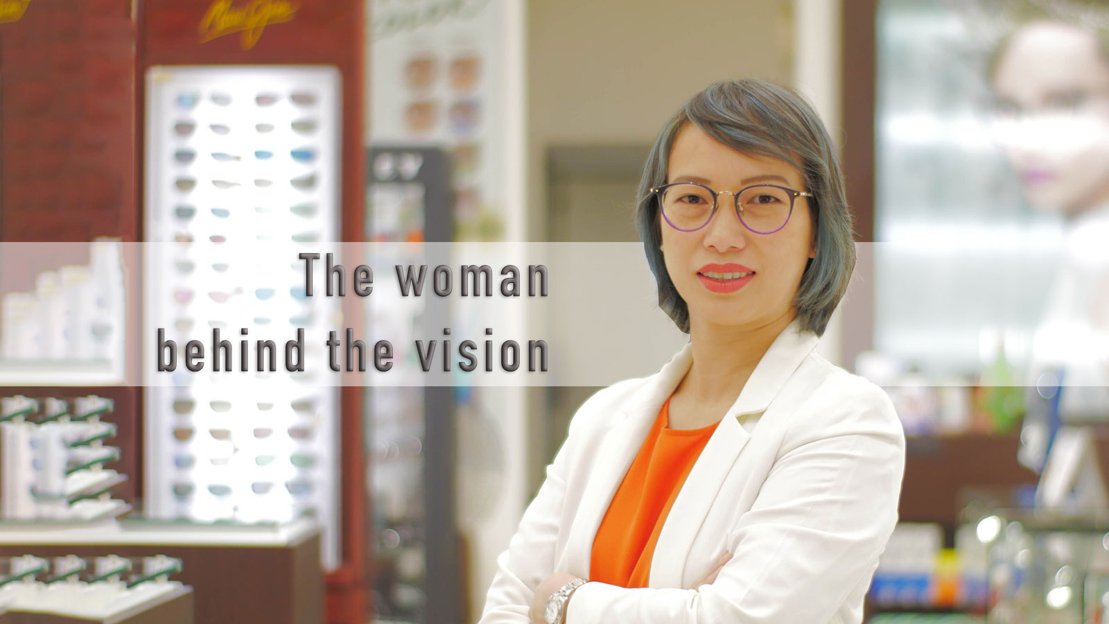 The woman behind the vision