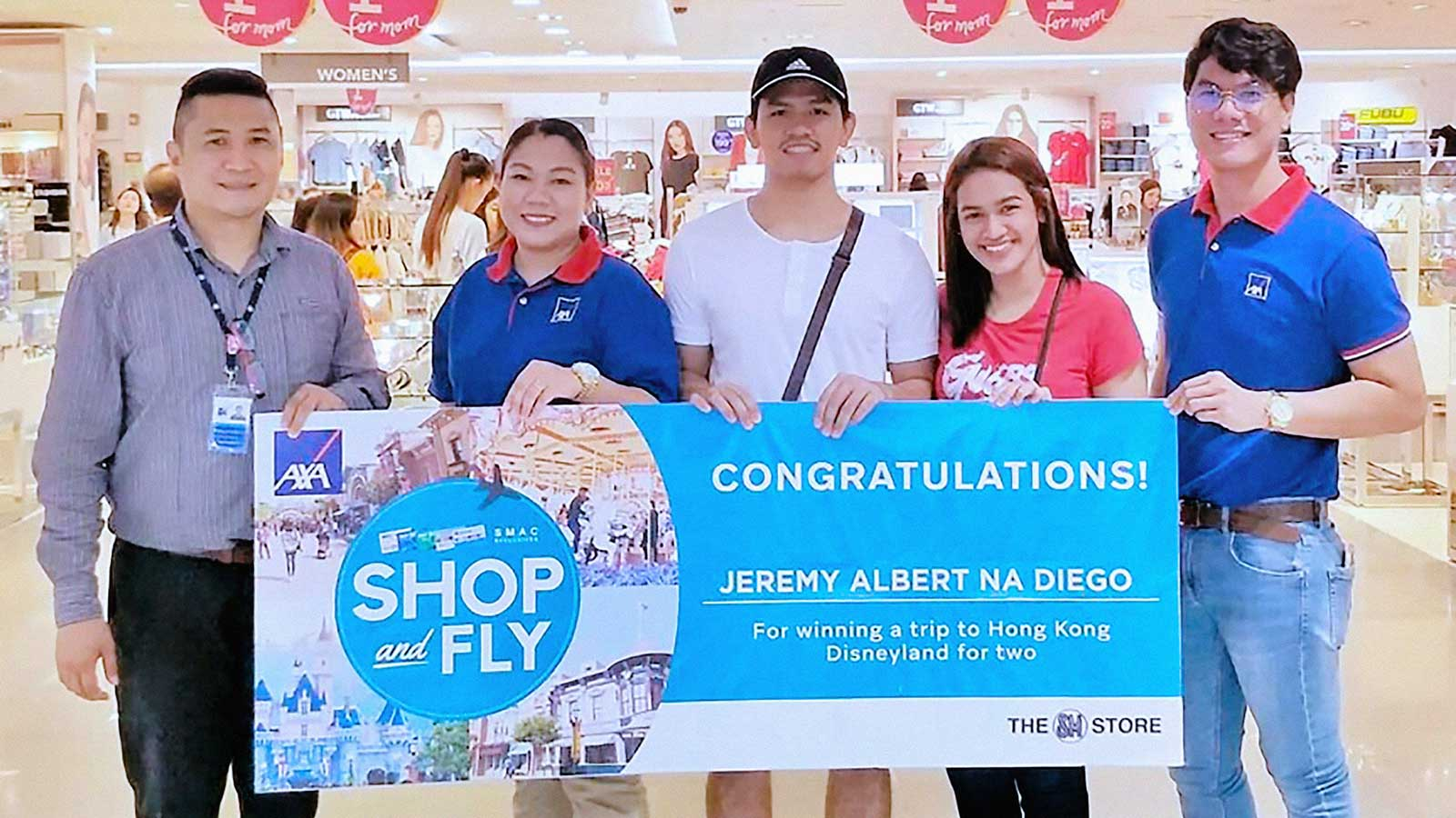 SM Shop and Fly Promo Winners