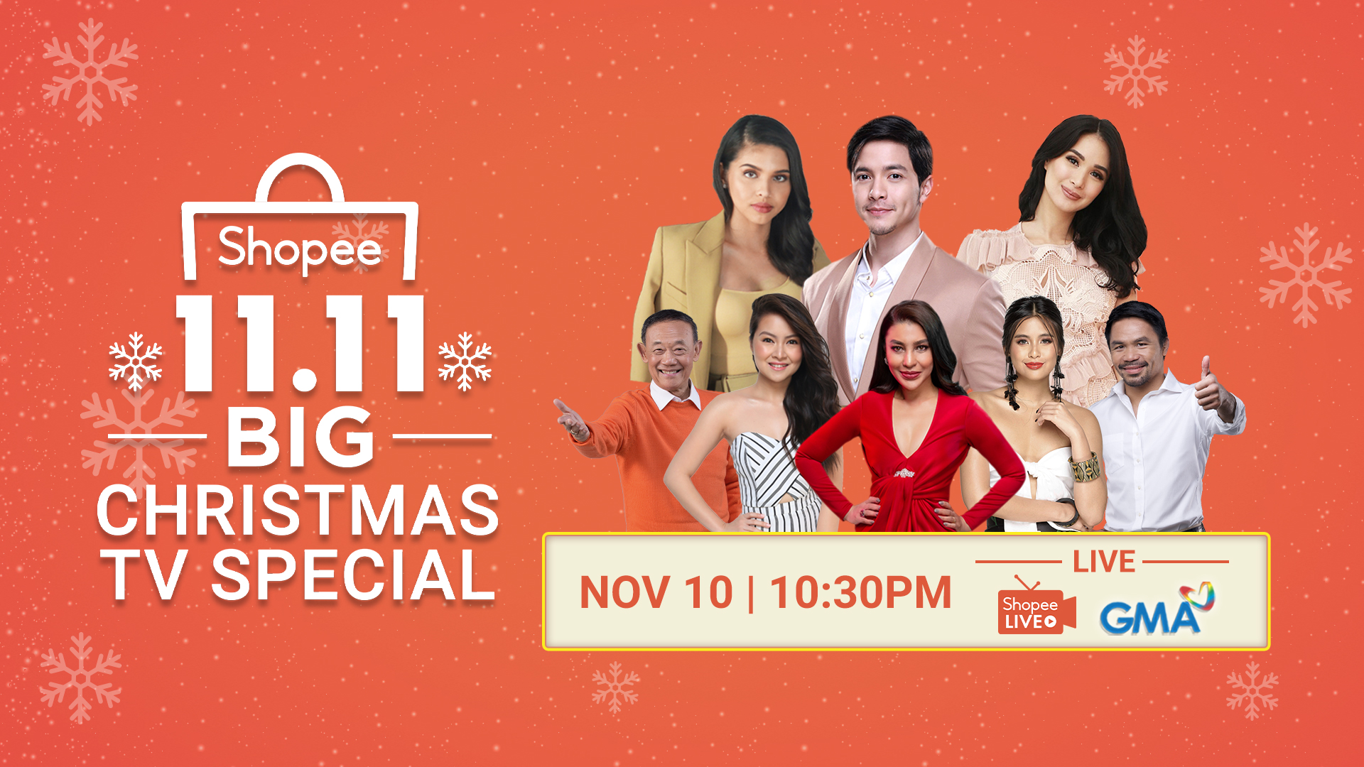 Shopee 11.11 Big Christmas Sale