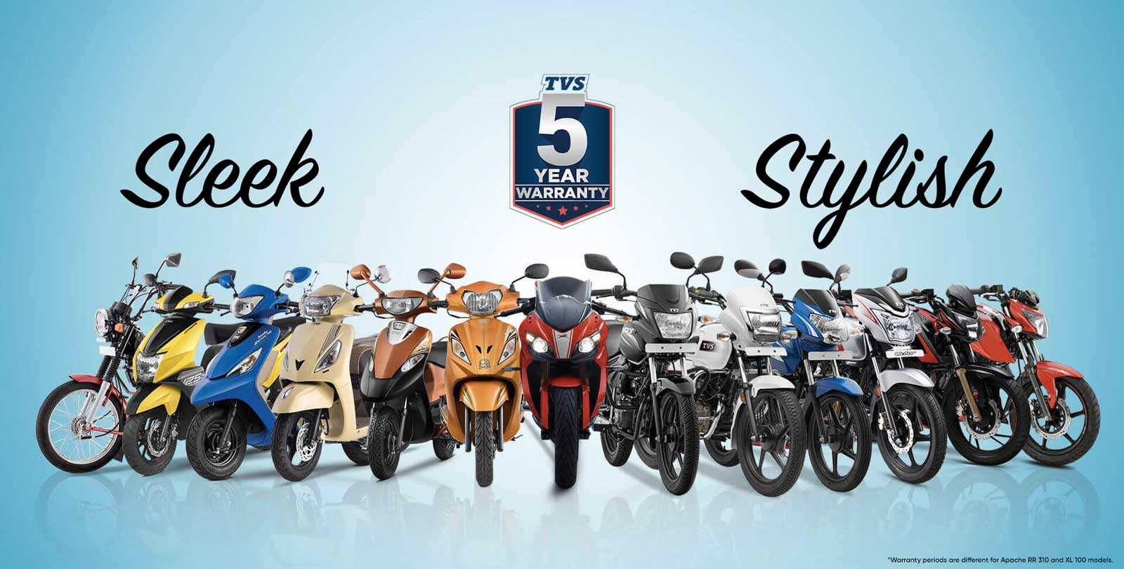 Sleek and Stylish: TVS Motor launches new street stunners