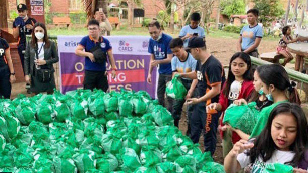 SM Group organizes relief and recovery efforts for Taal victims