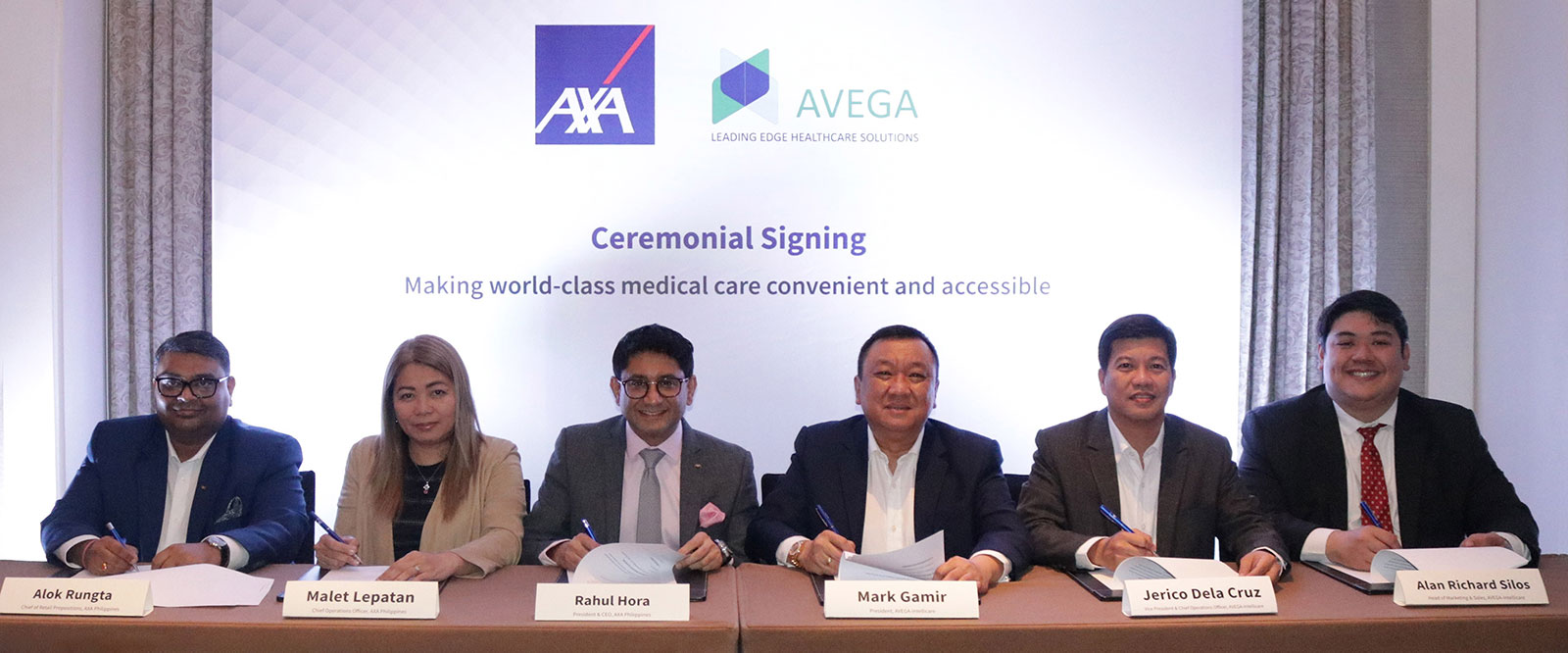 AXA Philippines inks partnership with Avega Managed Care