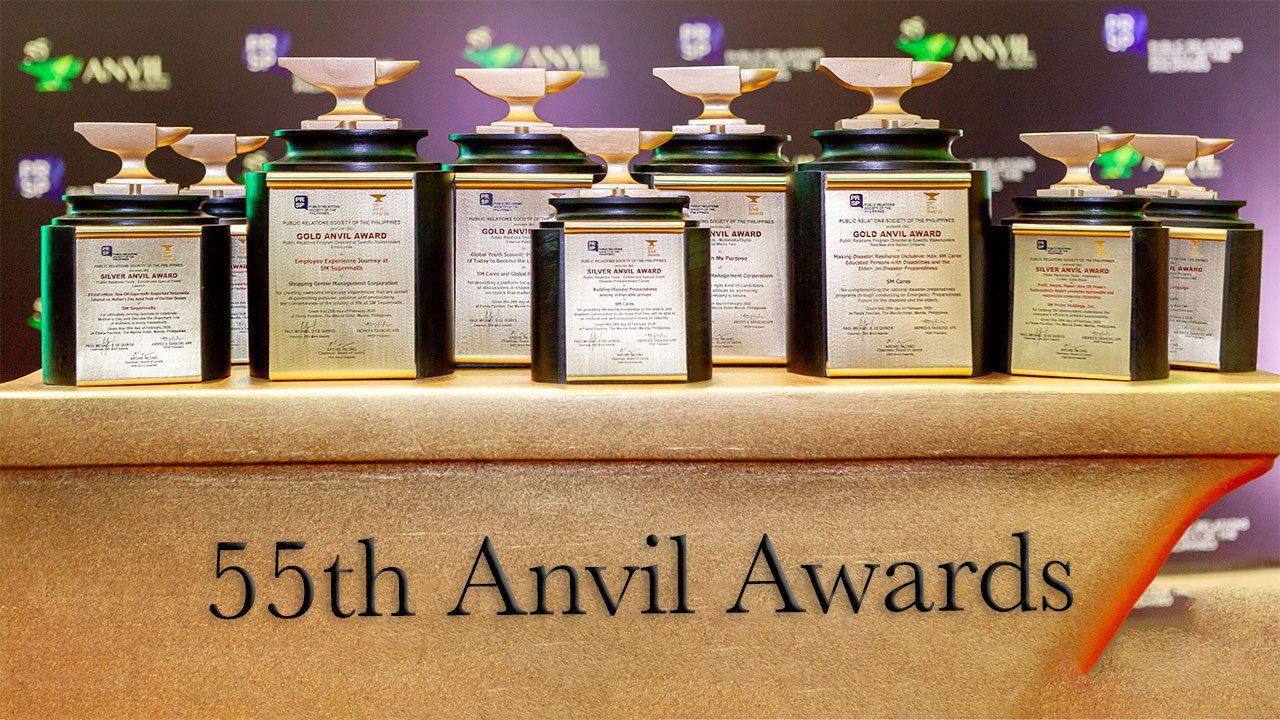 SM wins big at the 55th Anvil Awards