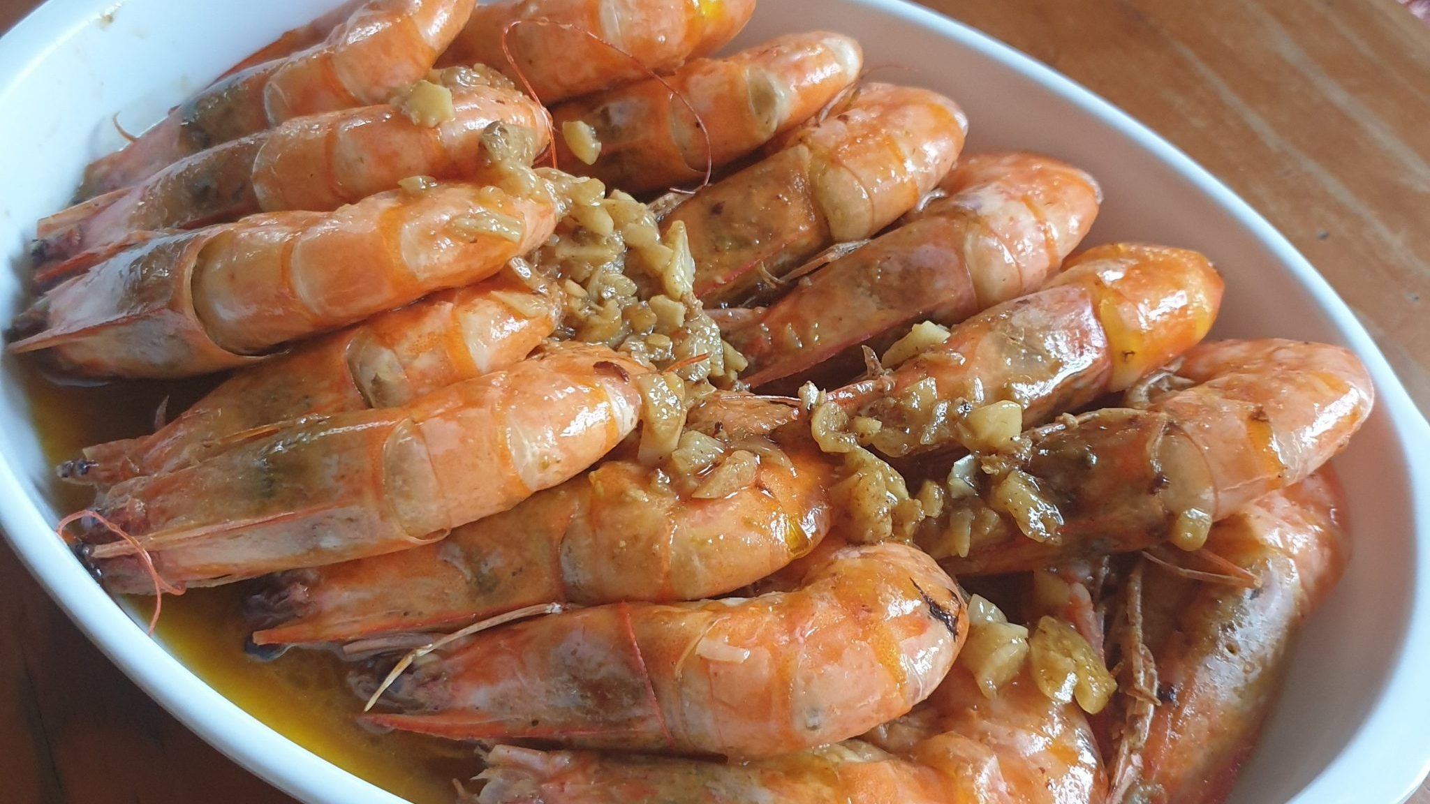 Recipe: Garlic Butter Shrimp