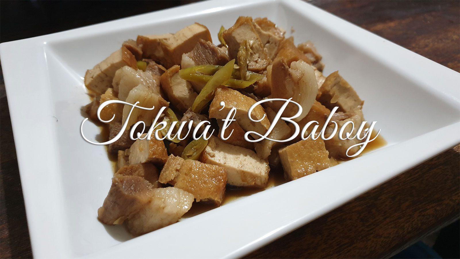 Recipe: Tokwa't Baboy