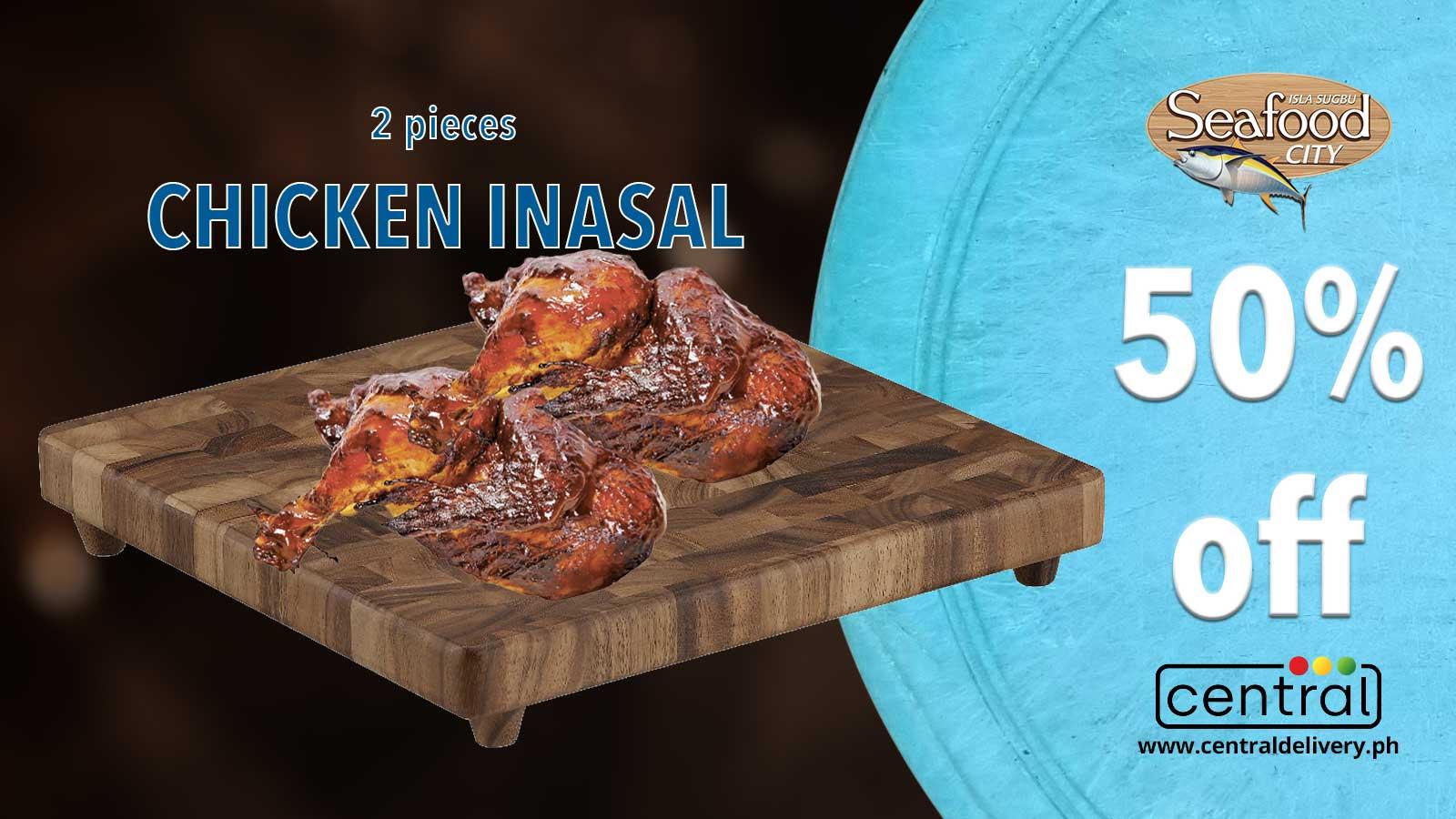 Enjoy 50% off Isla Sugbu Seafood City's Chicken Inasal