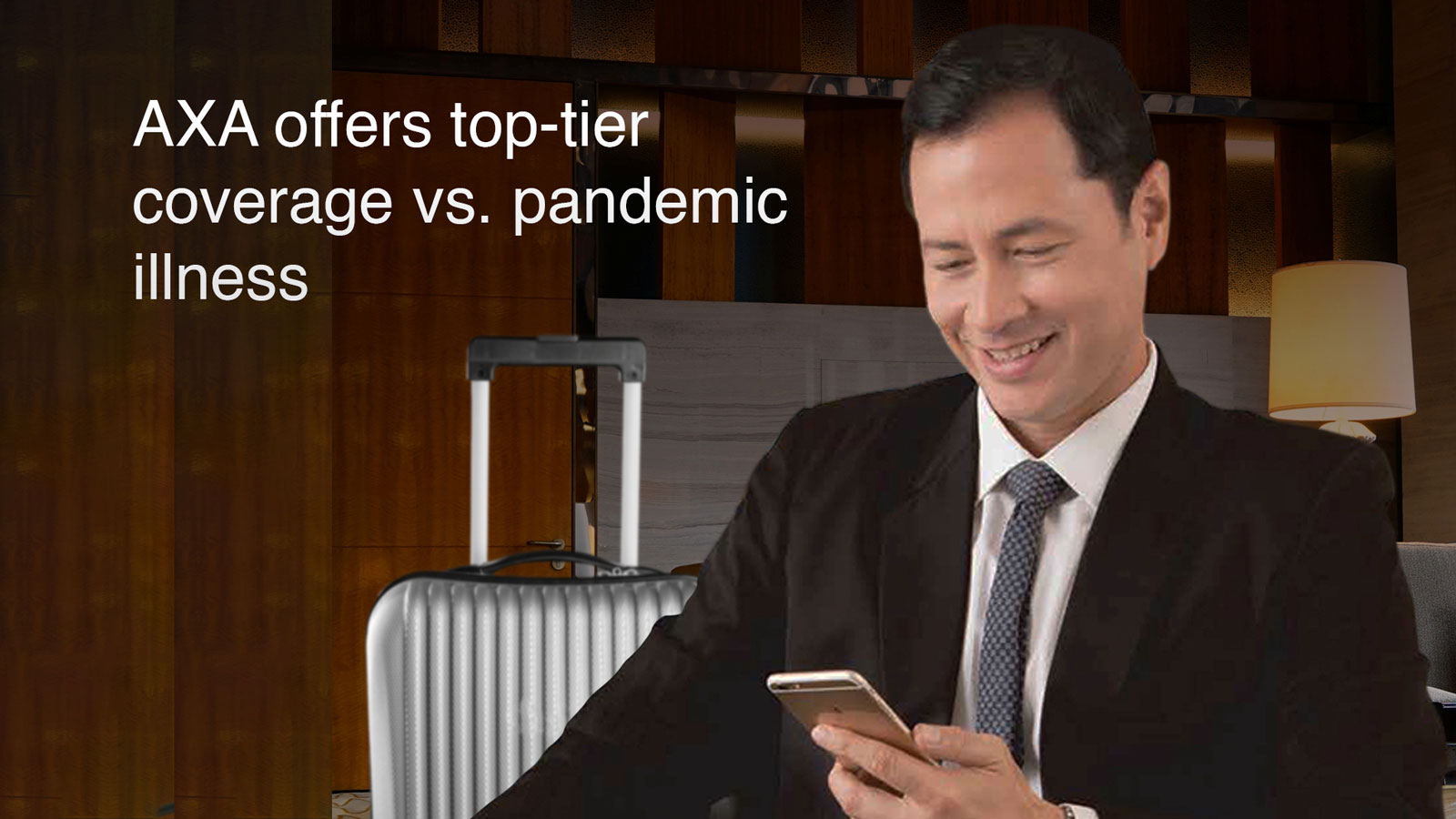 AXA health plan now offers top-tier coverage vs. pandemic illnesses