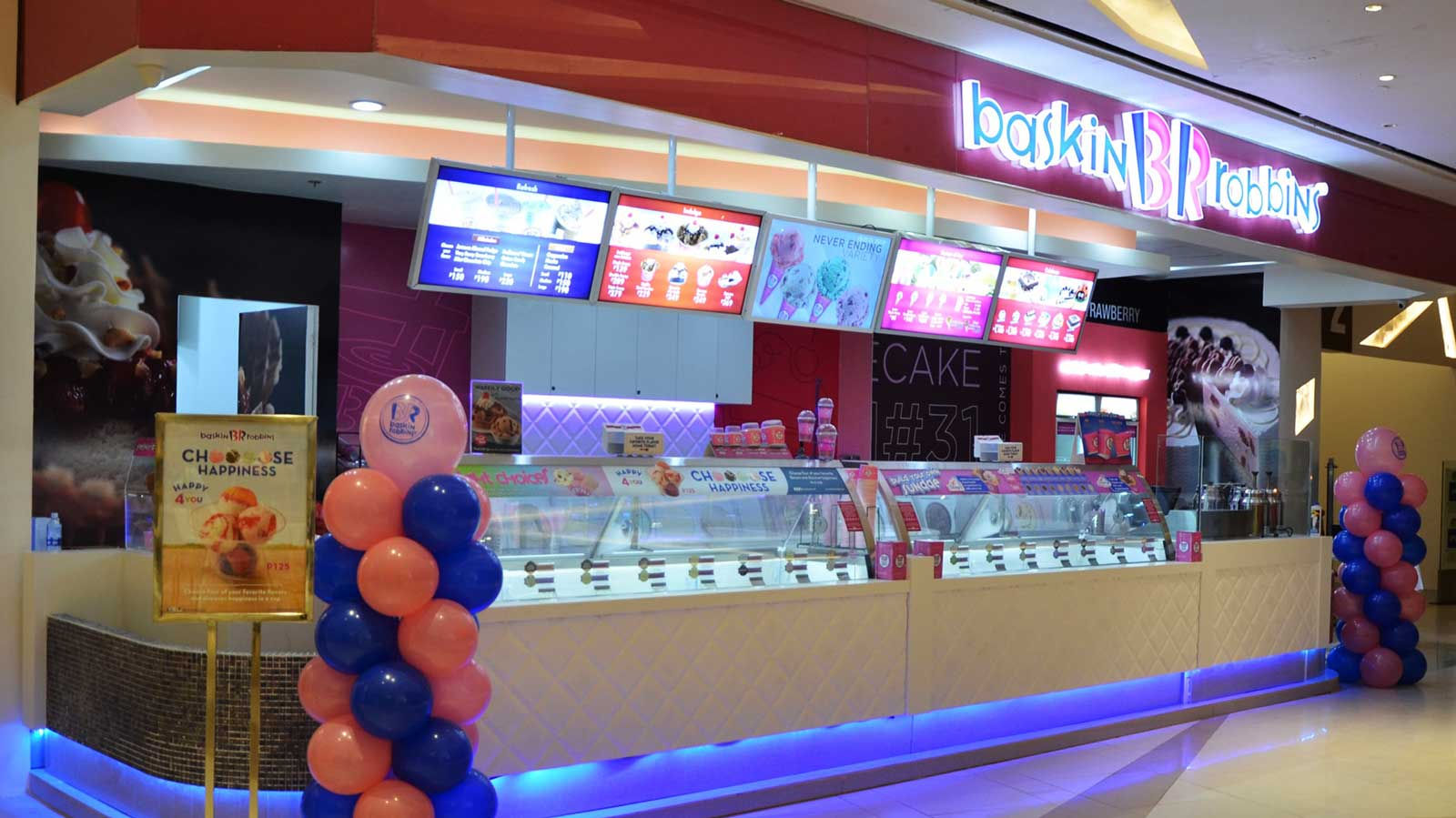Baskin-Robbins is now scooping in Uptown Place Mall, Taguig