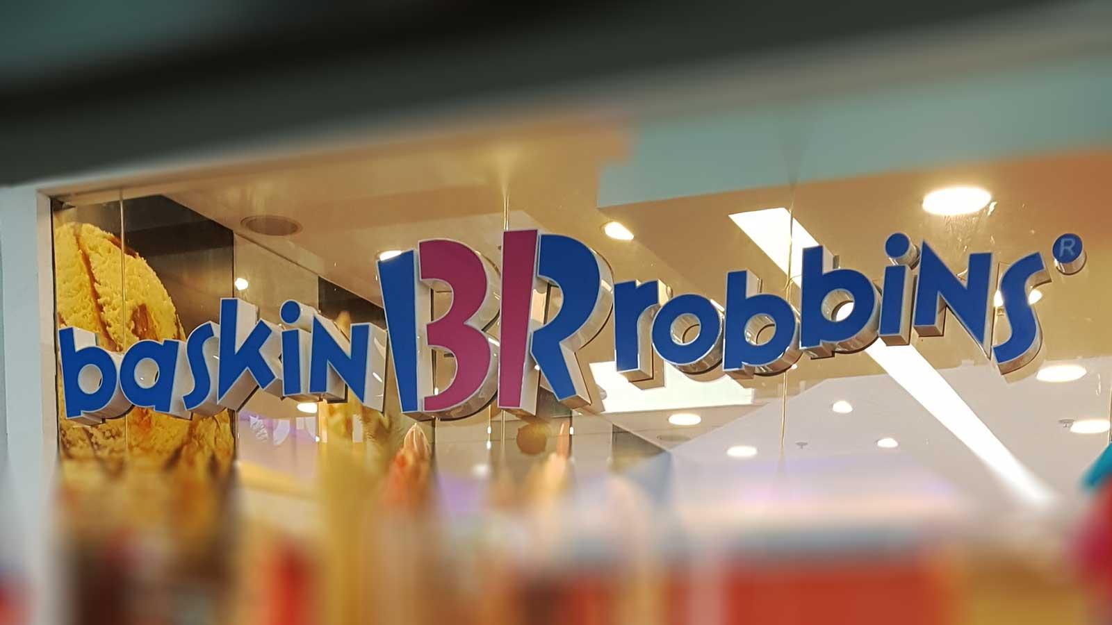 Scooping happiness at Baskin-Robbins Bonifacio High Street