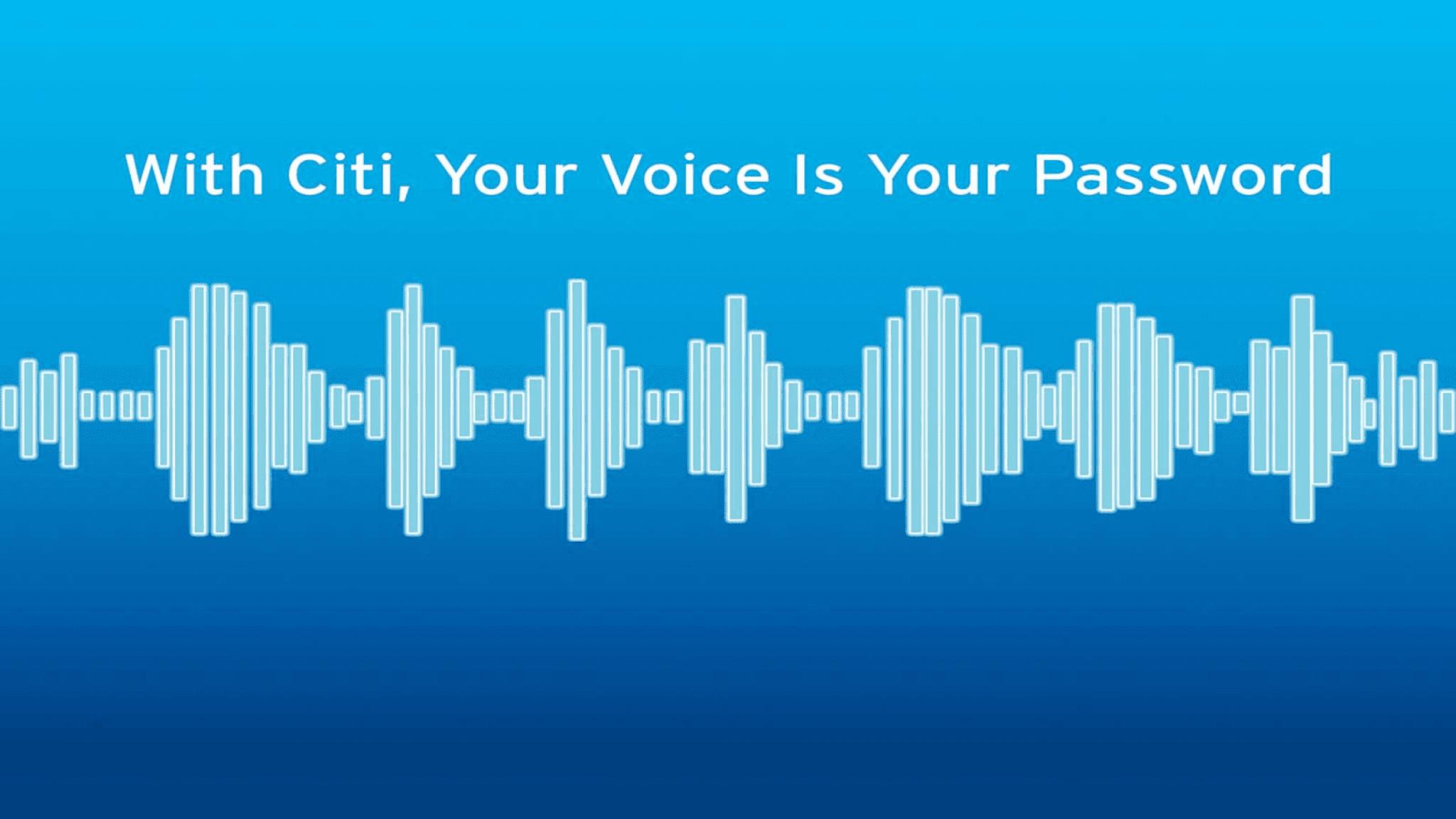 Citi launches voice biometrics security