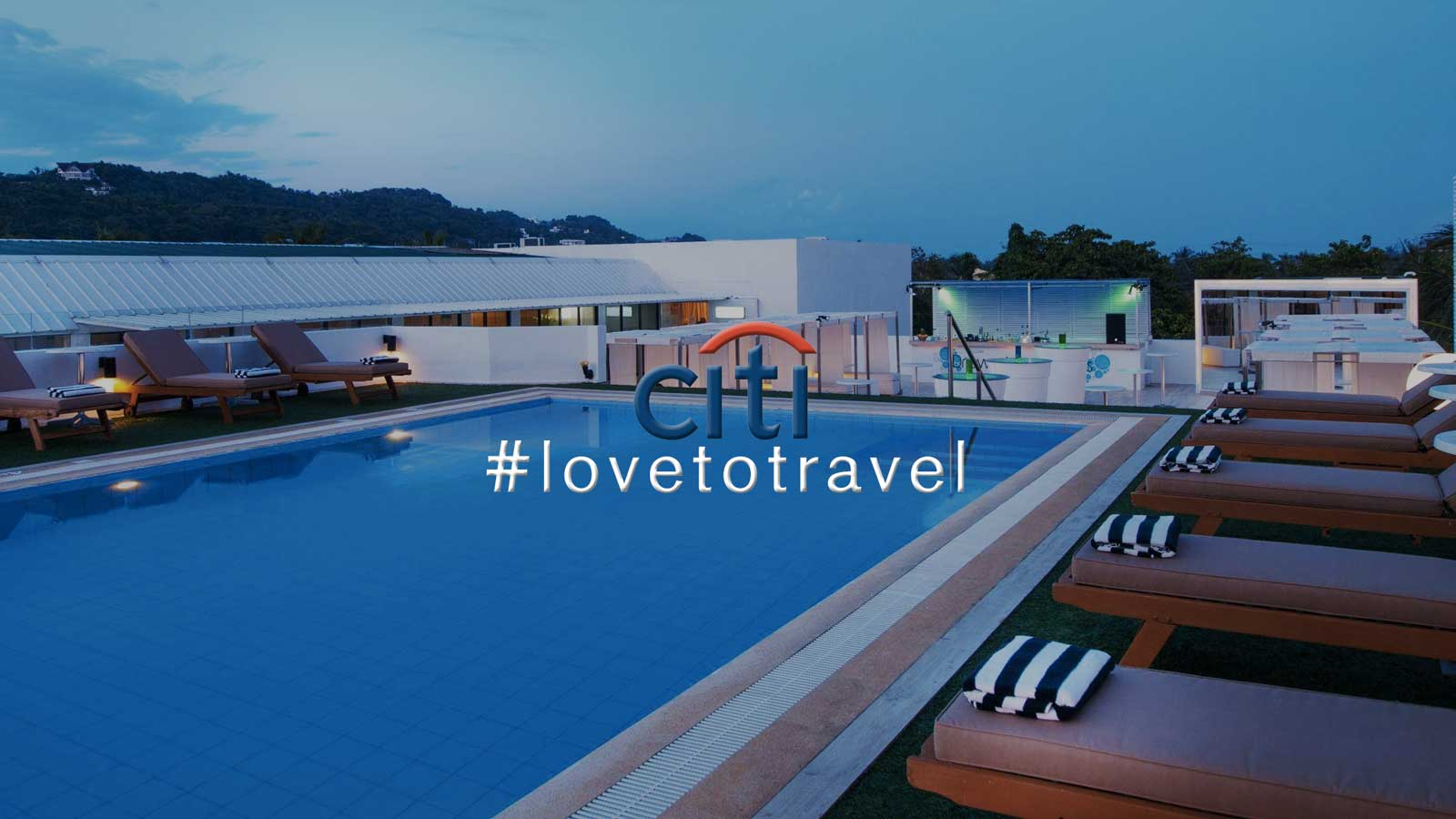 #lovetotravel with Citi credit cards