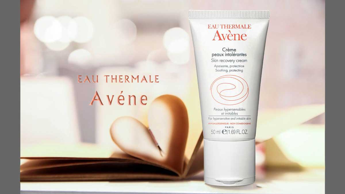 Eau Thermale Avene launches the skin recovery creme