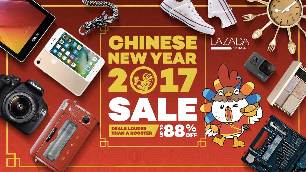 Welcome the Chinese New Year with lucky deals at Lazada